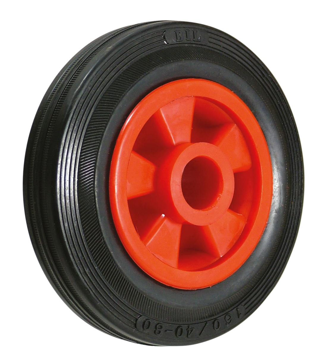 Polyurethane And Rubber Tyred Wheels