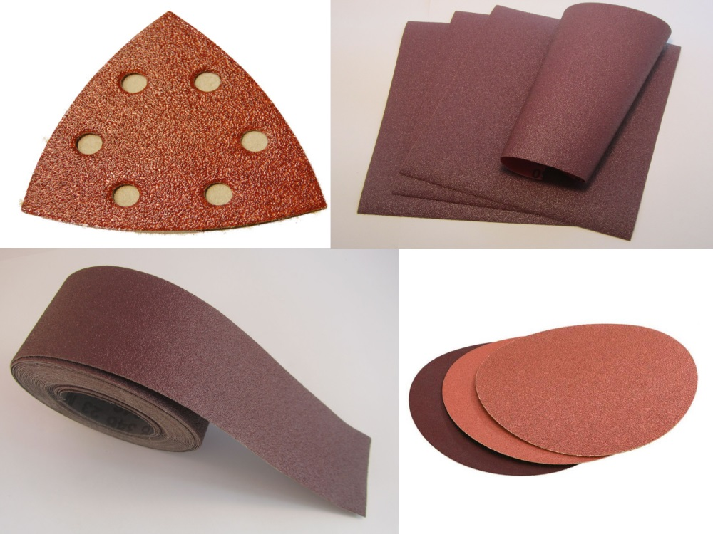 Aluminium Oxide Discs, Rolls, Triangles & Sheets