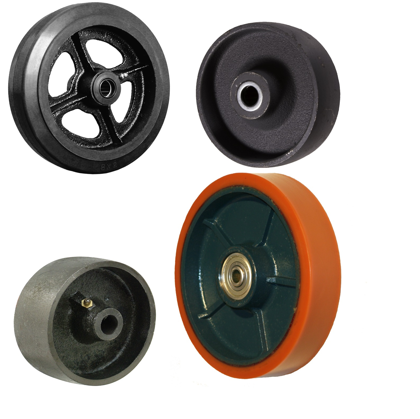 Cast Iron And Steel Wheels