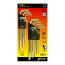 Bondhus GoldGuard Ballpoint L-wrench Set Metric / Imperial Multi-pack BLX22G