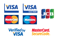 We Accept Major Debit and Credit Cards